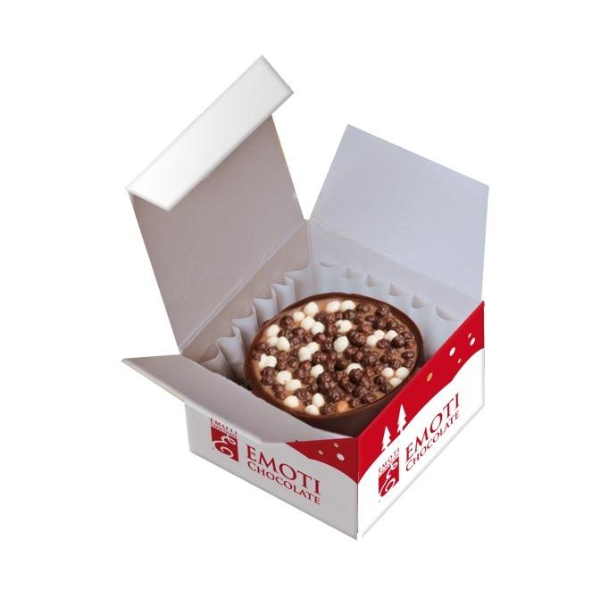 Belgian Chocolates EMOTI. Gift boxes and pralines.