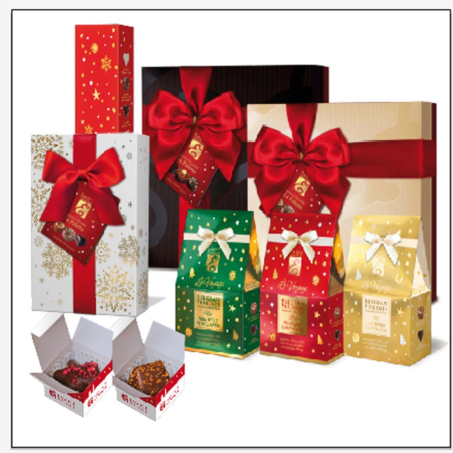 The selection of Christmas Gift Boxes EMOTI